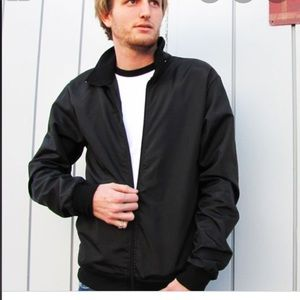 American Apparel Unisex Men Zipper Jacket Coat